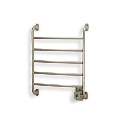 Warmrails HSRS Regent 25.25-Inch Wall Mounted Towel Warmer, Nickel Finish