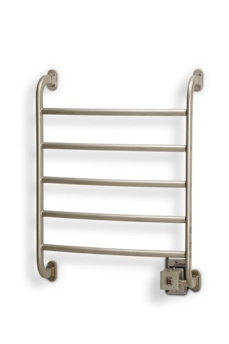Warmrails HSRS Regent Wall Mounted Towel Warmer, Nickel Finish