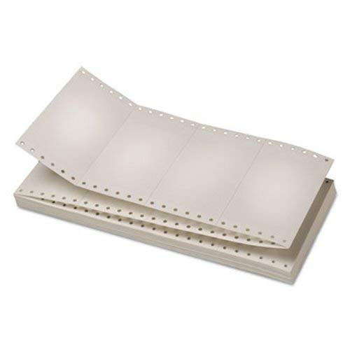 Universal 63135 Continuous Unruled Index Cards, 3 x 5, White, 4,000/Carton