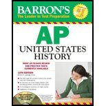 Barron's AP United States History - Text (10th, 12) by MA, Eugene V Resnick [Paperback (2012)]