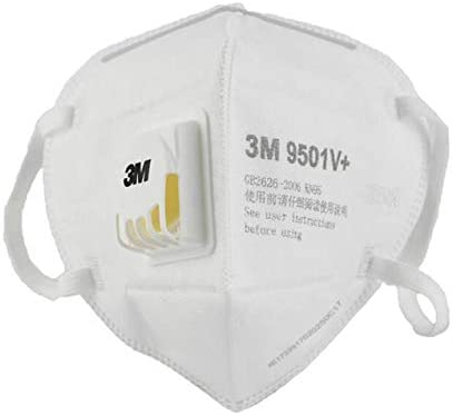 6 Pcs – KN95 Disposable Respirator Face Mask, 9501V+, Protection Medical Dust Mask