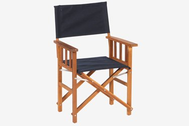 Charmant Brazilian Cherry Wood Directors Chair (BLACK; Set Of 2 Chairs) Brazilian  Cherry Wood