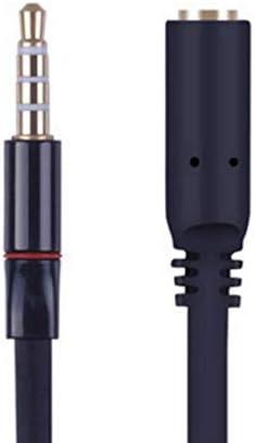Gold 3,5 Mm OMTP auf CTIA Kopfhörer Mic Converter Adapter Rechtwinklig