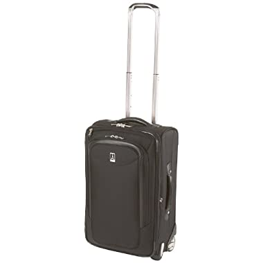 Travelpro Luggage Platinum Magna 22 Inch Expandable Rollaboard Suiter, Black, One Size