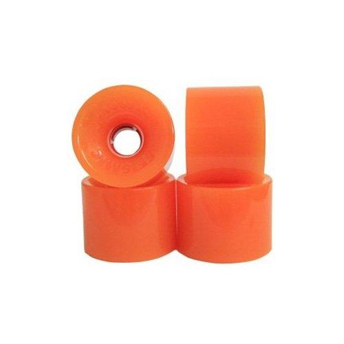 読みやすいポルノバイパスSeismic Wheels – ホットスポット69 mm x 52 mm – 78 A – オレンジ