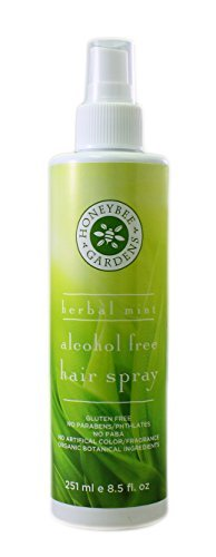 Honeybee Gardens Herbal Mint Alcohol Free Hair Spray, 8 o...