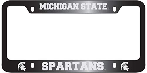 Michigan State University-Metal License Plate Frame-Black