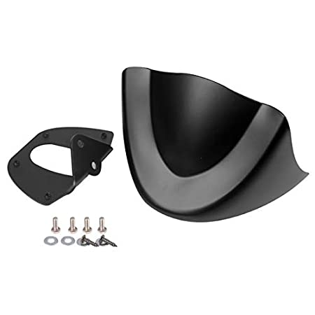BEESCLOVER Auto Motorcycle Glossy Mudguard Cover Air Dam Fairing For Dyna Fat Bob FXDL 2006-2017 Matte black