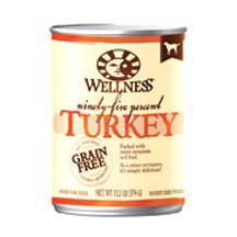 Wellness Dog Food 95% Trky 13.2 Oz by Wellness