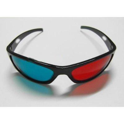 [해외]3D 안경 - 일반적인 적색 청록색 애너 글리프 안경/3D Glasses - Generic Red Cyan Anaglyph Glasses