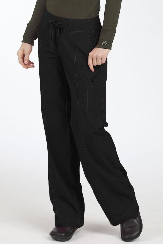 Med Couture Women's Comfort Collection Pant, Black, X-Small Petite (Shop View Petite All)