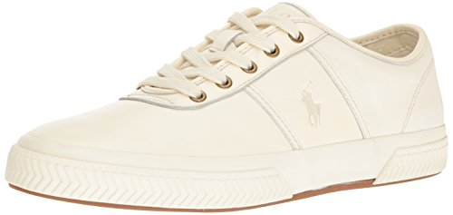 Ralph Lauren Men's Tremayne-S, Cream, 9 D US