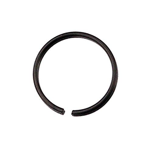 Yanvan Nose Ring Hoop, Stainless Steel Round Nose Ring Piercing Earring Stud Stud Nasal Septum 6mm 8mm 10mm