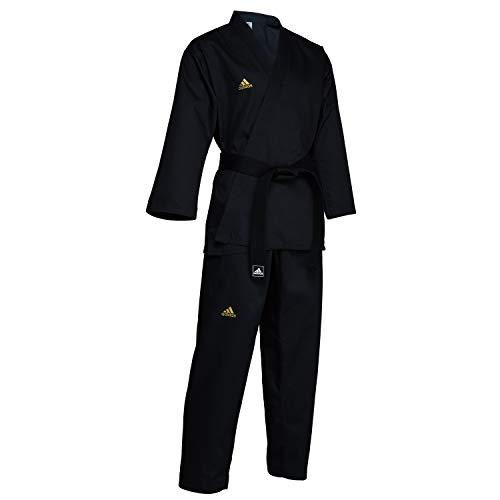 Adidas All Black Open Martial Arts Uniform (2)