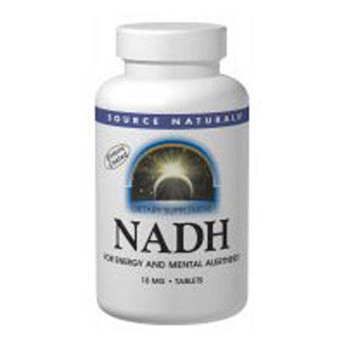 Source Naturals NADH for Energy & Mental Alertness 10mg 30 Lozenges ()