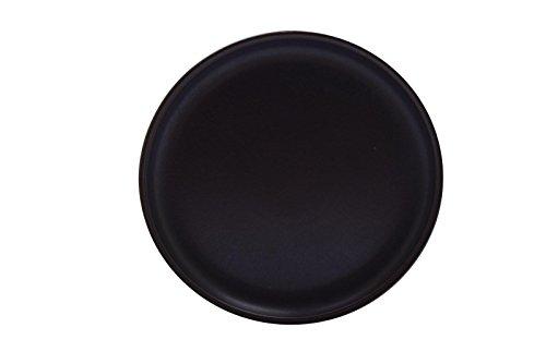 "Denby Samarkand Arabesque Solid Brown Pottery 10"" Dinner Pla"