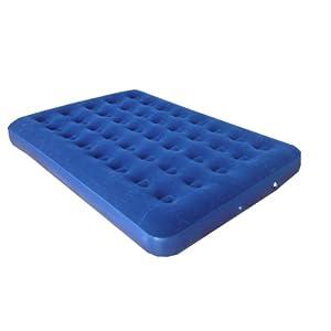 "Double size air mattress (Size: 73""x54""x7.5"")"