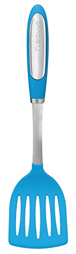 (Cuisinart CTG-07-LTB Nylon Slotted Turner, Blue )