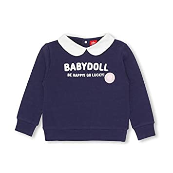 f60f0cb1c526d Amazon.co.jp: BABYDOLL(ベビードール) 襟付きトレーナー 1325K 80cm ...