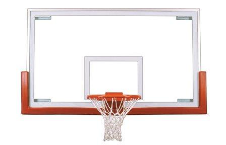 最初チームVictoryアップグレードパッケージsteel-glass Gymnasium backboard44 ;リム&パッドアップグレードpackage-ロイヤルブルー B01HC0EBYG
