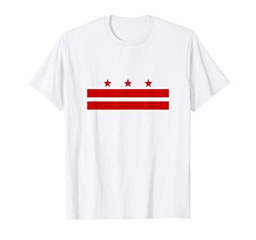 Washington DC Flag Tshirt - Washington DC City Flag Shirt