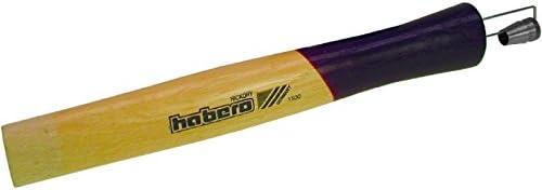HaWe 743.28 Fäustelstiel 280 mm aus Hickoryholz