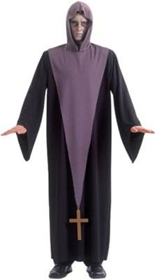 Adult Exorcist Costume Size: Adult Standard Size