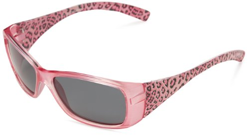Sunbelt Catalina 0011 Polarized Rectangular Sunglasses,Pink & Butterfly Camo Print,50 mm