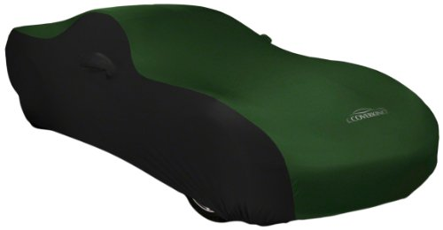 Coverking Custom Fit Car Cover for Select Chevrolet Truck C/K 150025003500 Models - Satin Stretch (Green with Black Sides)
