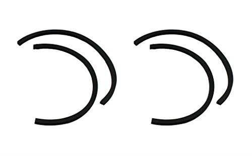 (4 Dyson DC07 & DC14 Post Motor HEPA Filter Seals - High Quality Filter Seals - DC07 & DC14 Gasket Seals - Replaces Dyson Part # 908172-01, 10-2314-04 - Great Replacement Quality)