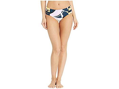 Seafolly Women's Active Multi Strap Hipster Bikini Bottom Swimsuit, Cut Copy Blueprint, 2 US