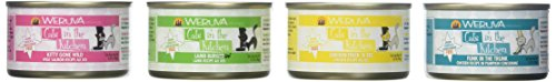 Weruva Cats in the City Variety Pack Pet Food 3.2 Ounce Cans