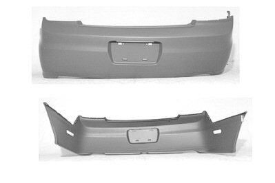 02 Honda Accord Rear Bumper - 9