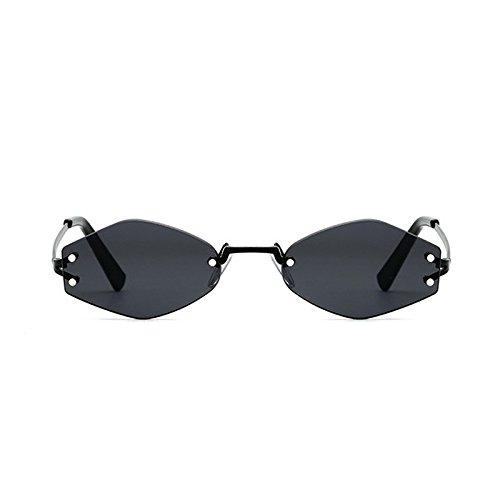 G C1 C1 Sol Moda Reborde Gafas TIANLIANG04 Black Pequeño Gafas Tonos Lente De Uv354 Señoras Negra Lens Cuadrado qv7cZn7