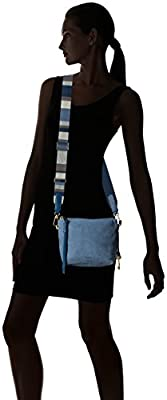 Fossil Maya Crossbody-Cornflower