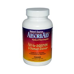 Natures Sources - Absorbaid Digestive Support 3.5 Ounce