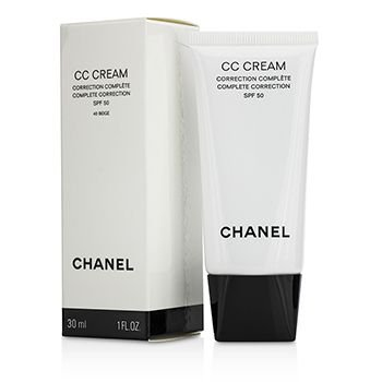 Chanel Cc Cream Complete Correction Sunscreen Broad Spectrum Spf 50 40 - Chanel Store Online