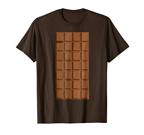 Lazy Halloween Costume Tshirt Chocolate Smores T