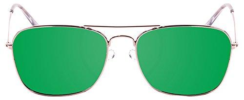 Ocean Sunglasses 18220.5 Lunette de Soleil Mixte Adulte, Vert