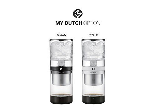 ECO Friendly Bean Plus My Dutch Drip type coffee maker (350ml) 2016 New Version, Office, Desk Coffee Maker (Black )