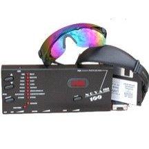 Photosonix Nova Pro 100 Light Therapy Sound Mind Machine W Cool Blue Premium Glasses