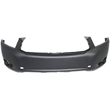 Front Bumper Cover For 2006-2008 Toyota RAV4 w// fog lamp holes Primed CAPA