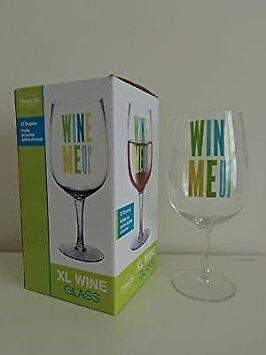 27 Ounce Wine - FineLife 'Wine Me Up' XL Wine Glass, 27 Ounces