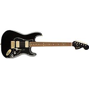 Limited Mahogany Blacktop Stratocaster PF Black