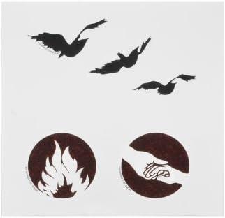 Tatuajes tatuaje temporal Set de NECA Divergente Tris: Amazon.es: Bebé
