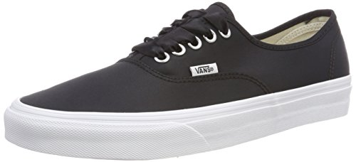 Unisex Authentic Vans Negro U Satin Lux Zapatillas Ftzw5Sq