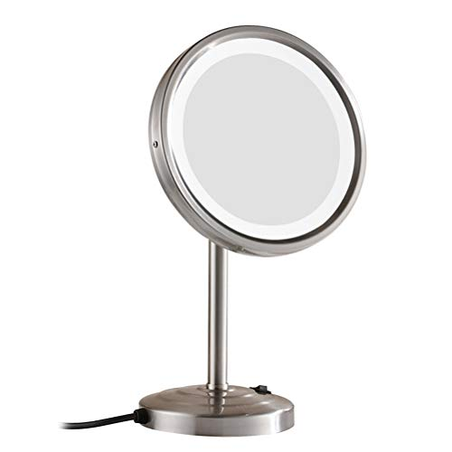 Makeup Mirror LED 8.5 Inch 3X Magnification Can Adjusted Cold and Warm -