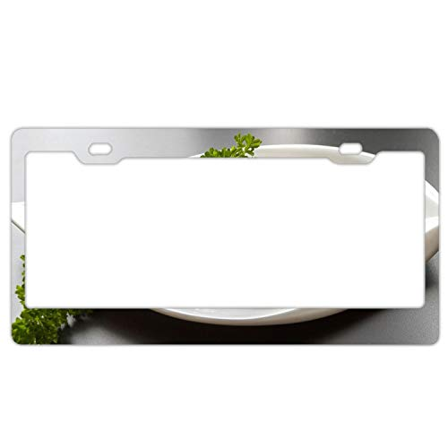 License Plate Meat Goulash Green Durable Car Tag 12