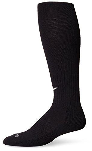Nike Classic Knee-High Soccer Socks (Large, (Soccer Over Knee Socks)
