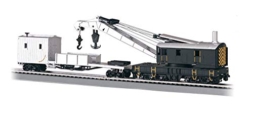 (Bachmann Trains Crane And Boom Tender-Ho Scale)